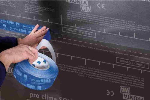SOLITEX-FRONTA-WA teipiminen TESCON VANA