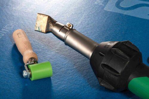 SOLITEX-WELDANO ülekatete tegemine kuumaõhupuhuriga 2