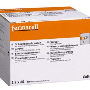 Fermacelli kruvid metallile ja puidule 3,9x30_1000